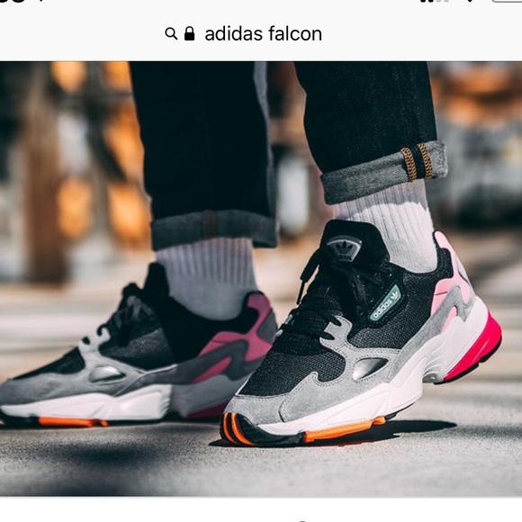d8808e1237d6 adidas Shoes - Adidas falcon core black light granite